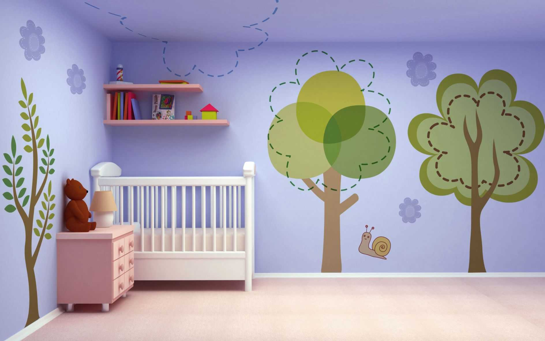 Decorazione Pareti Per Bambini : Decorare pareti camera. interesting idee per decorare pareti