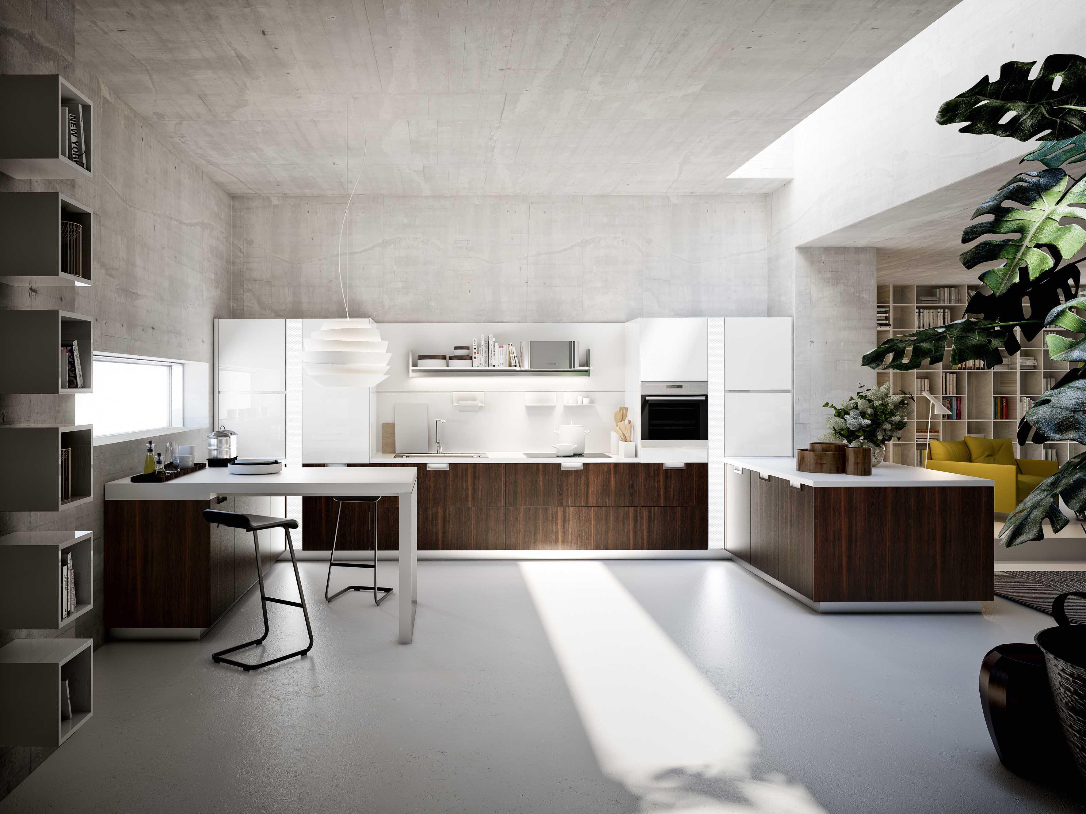 Arredamento cucine idee e consigli per mobili cucina - Bar design keuken ...